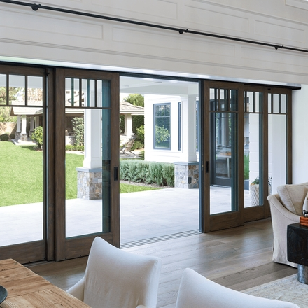 architect series multi-slide patio doors